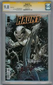 Haunt #3 Variant CGC 9.8 Signature Series Signed Ryan Ottley Image comic book